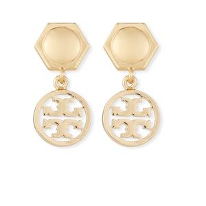 New Tory Burch earrings in gold